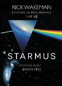 Cover Rick Wakeman & The English Rock Ensemble / Brian May - Live At Starmus [DVD]